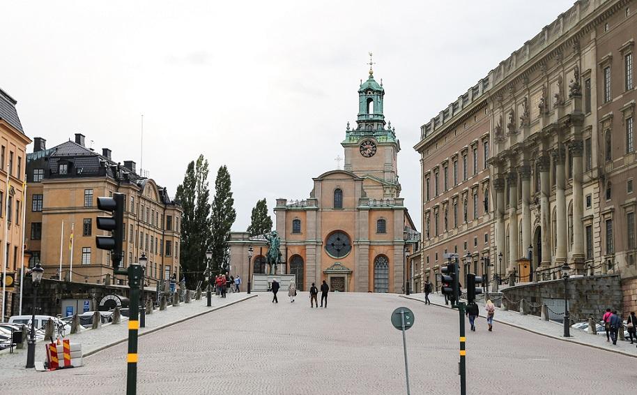 stockholms katedral udefra