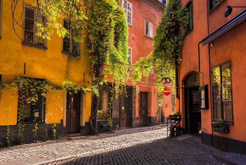 gamle stans gader i Stockholm