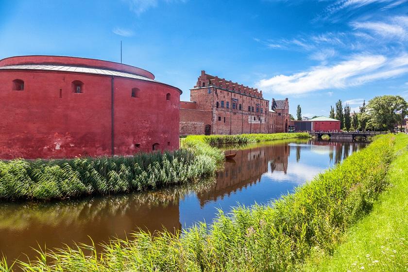 malmøhus slot set fra slotshaven