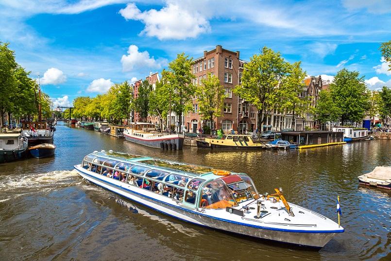 Kanalrundfart i Amsterdam