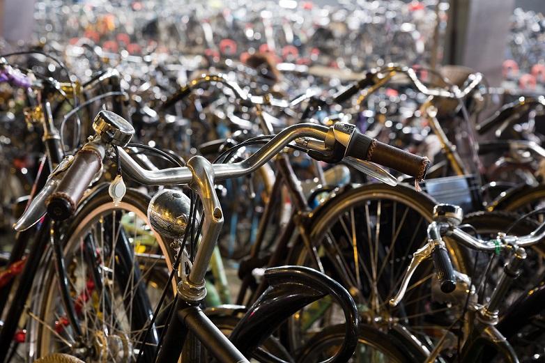 cykler i amsterdam