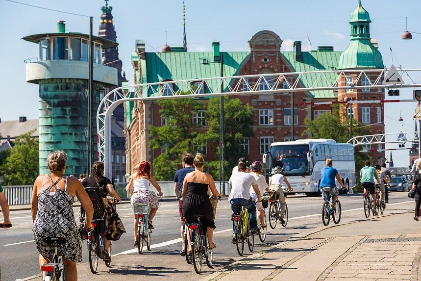 cykeltur i københavn
