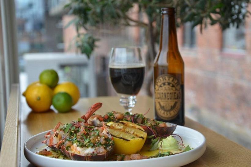 øl og gourmet på waterfront i gøteborg