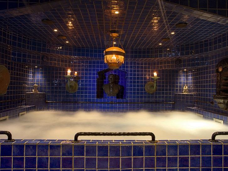 dampbad på Hotell Gästis
