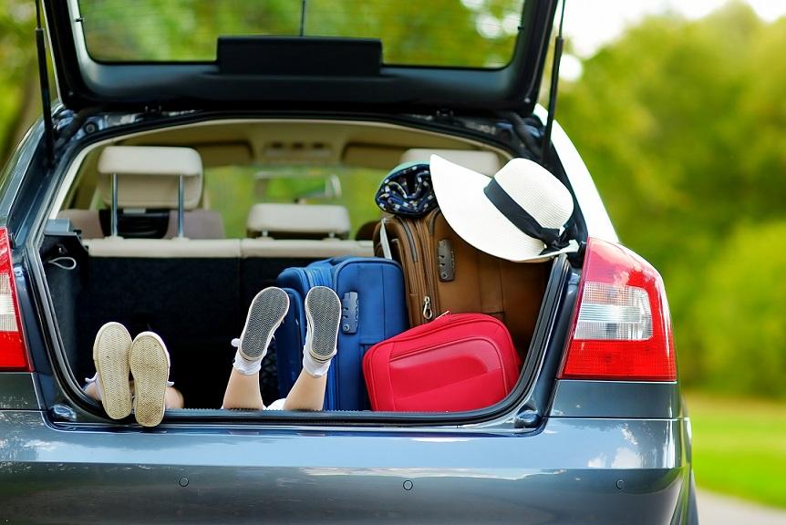 bil der pakkes til kør selv-ferie