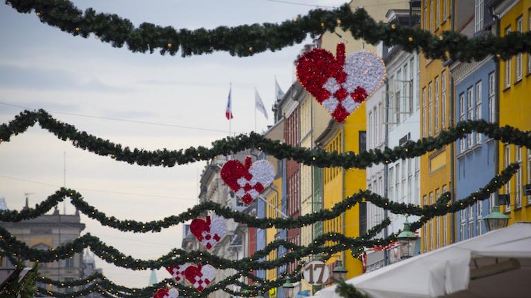 julepynt på Nyhavn