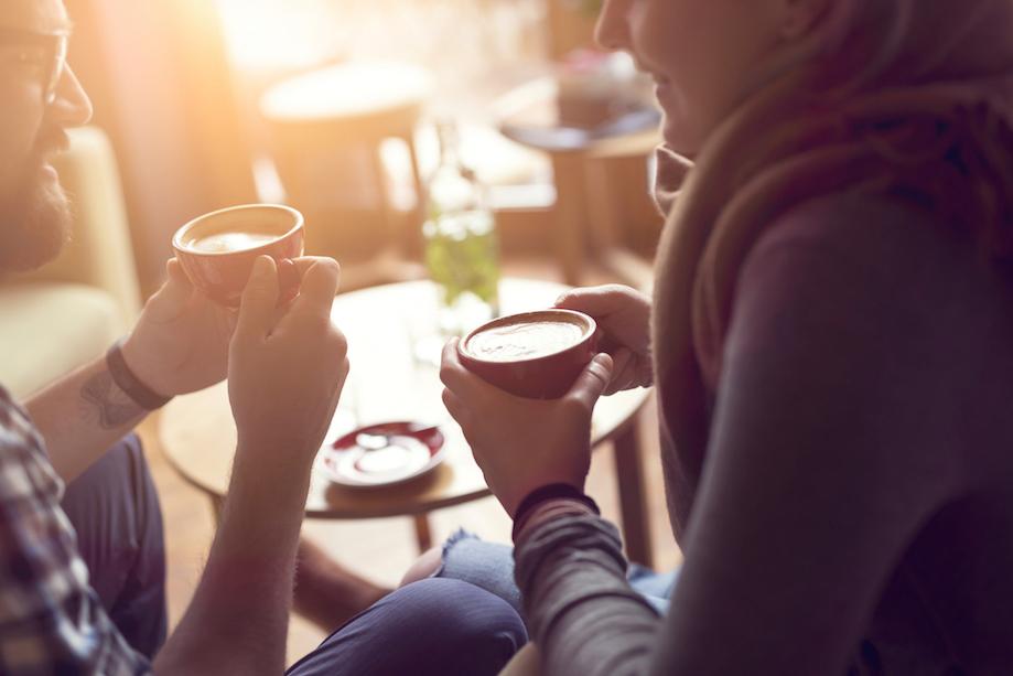 par på kaffedate