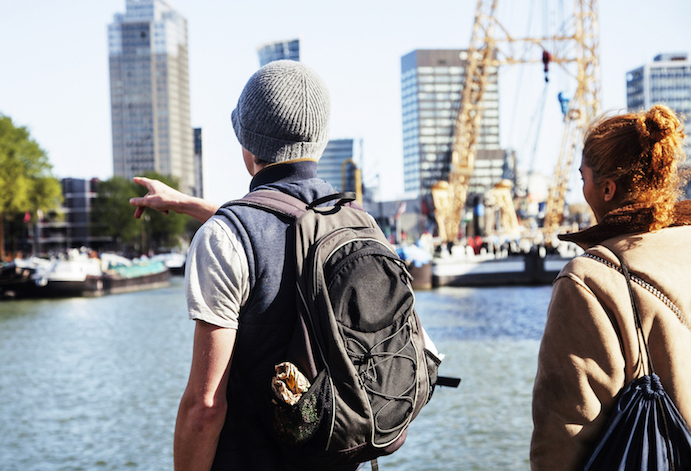 guidet rundtur i Rotterdam
