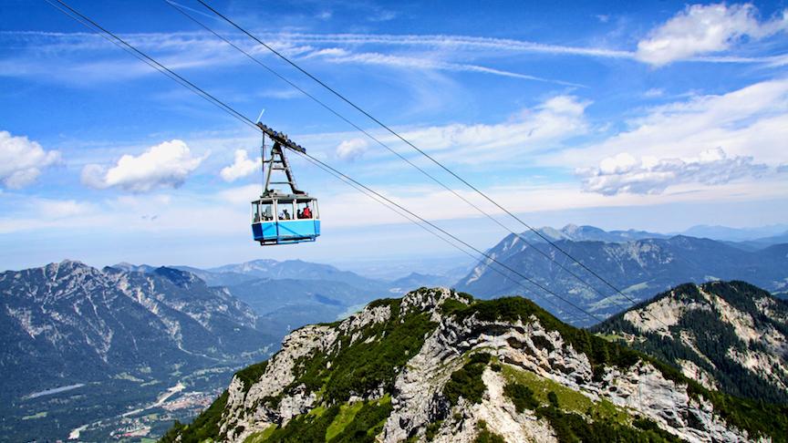 skilift i garmisch-partenkirchen